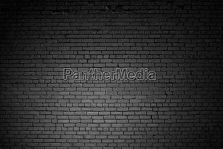 background texture old dark brick wall