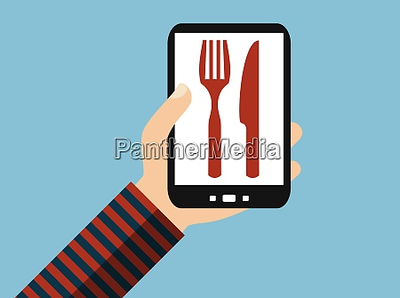 food delivery or restaurant search on