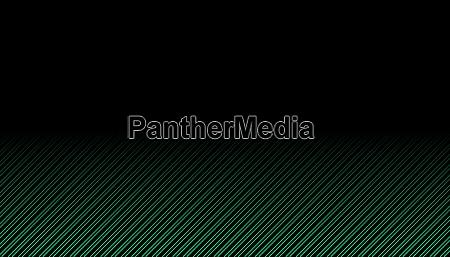 diagonal green gradient stripes on black