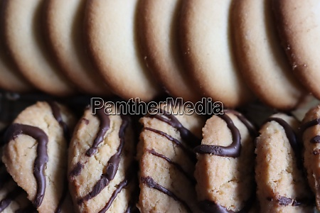 delicious biscuits with an amazing look