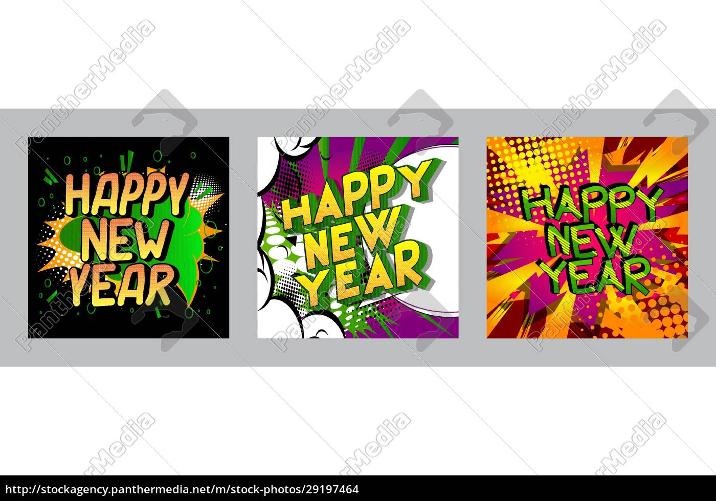 creative, happy, new, year, holiday, design - 29197464