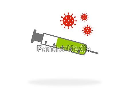 covid 19 vaccine coronavirus icon