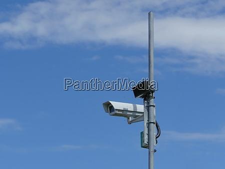 outdoor surveillance video camera
