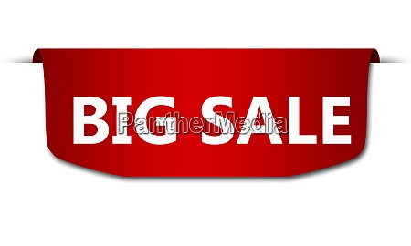 sale banners isolated with big sale