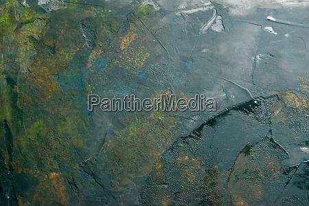abstract green grunge background top views