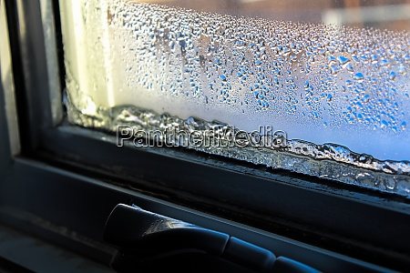 ice and condensation forming on a