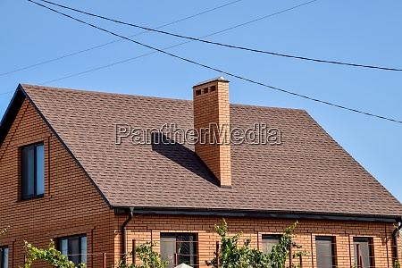 detached house with a roof made