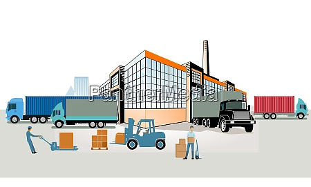 forwarding logistics industry shipping and delivery