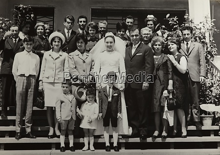 group people family 60s
