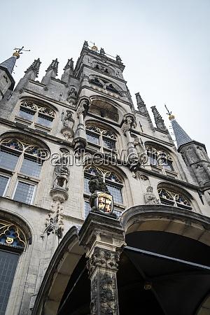 town hall gouda netherlands
