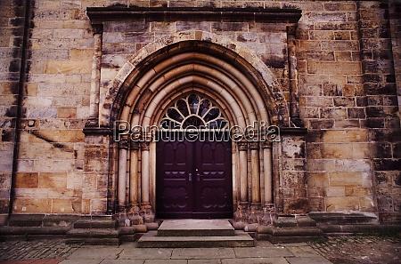 church portal of the monastery church