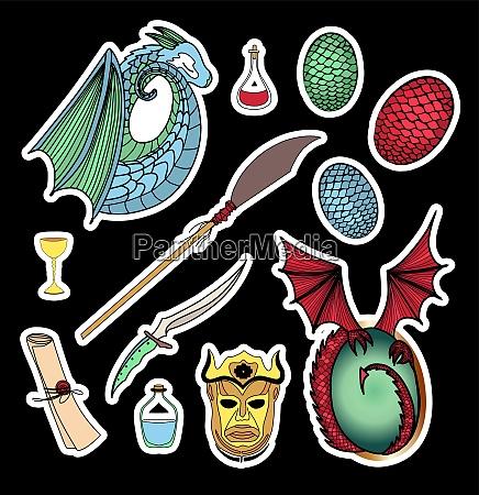 symbols of the seven kingdoms magic