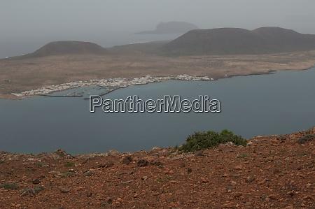 landscape in the north of lanzarote