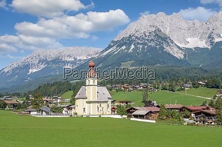 going am wilden kaiser tirol austria
