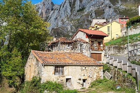 the hamlet tielve in asturias in