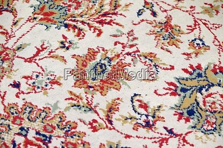 handmade woven rug oriental craft