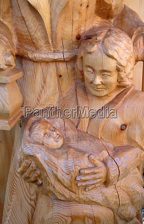 nativity scene creche or crib is