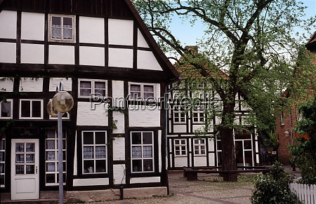 old town of burgdorf in lower