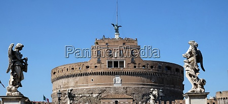 the mausoleum of hadrian usually known