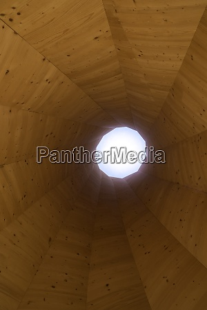 tower or tunnel made of wood