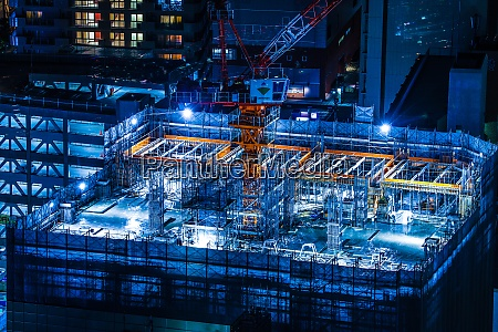 image of the construction site of