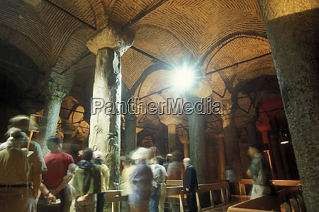 turkey istanbul cisterna basilica