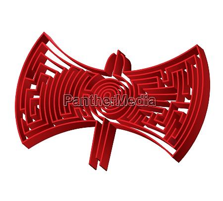 maze labyrinth looks like a