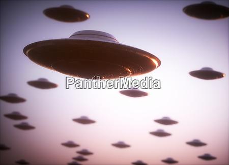 alien invasion ufo attack