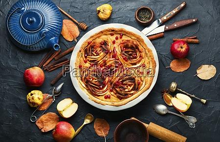 appetizing apple pie