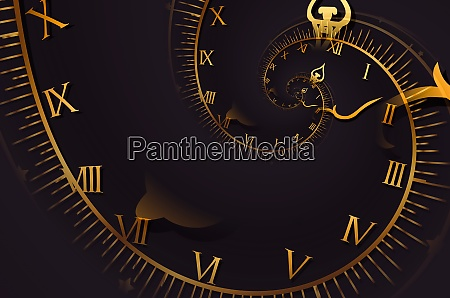 droste effect background abstract design for