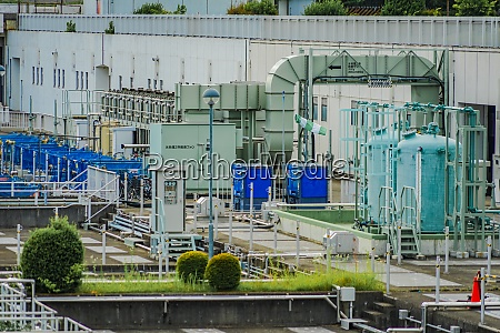 tama river upstream water reclamation center