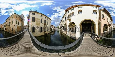 canale buranelli river that runs through