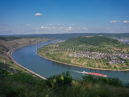 the rhine from the vantage point