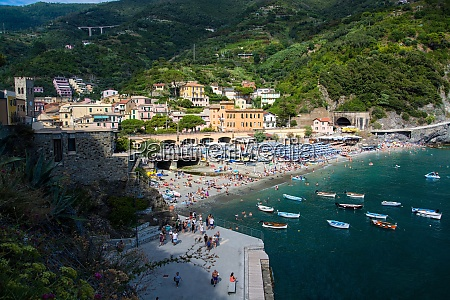 monterosso al mare liguria italy