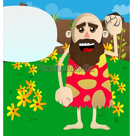 prehistoric man making power to the