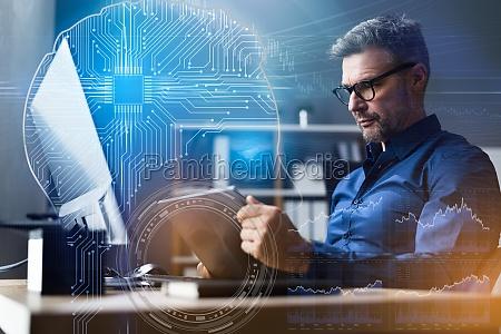 financial data analyst using ai