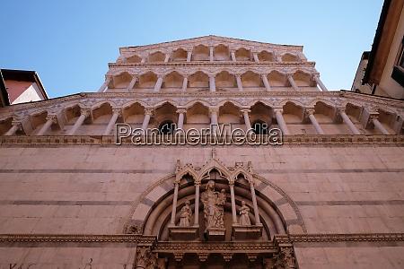 portal of saint michele in borgo