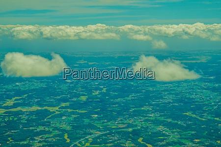 chiba prefecture city and sunny sky
