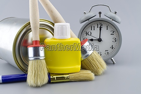 diy decorating or renovations concept