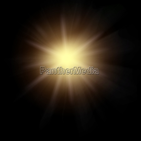 lens flares with flash lights