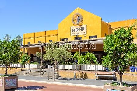 the monk craft brewery kitchen