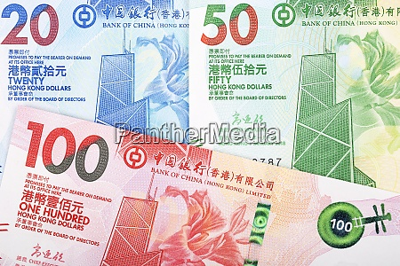 hong kong dollar a business background