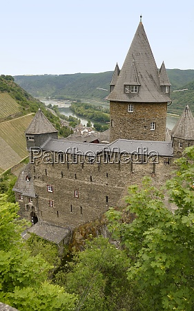 around stahleck castle in bacharach