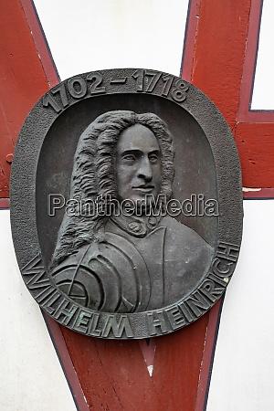 iron badge from prince wilhem heinrich