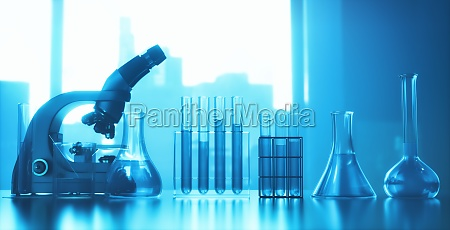 test tube microscope laboratory instruments