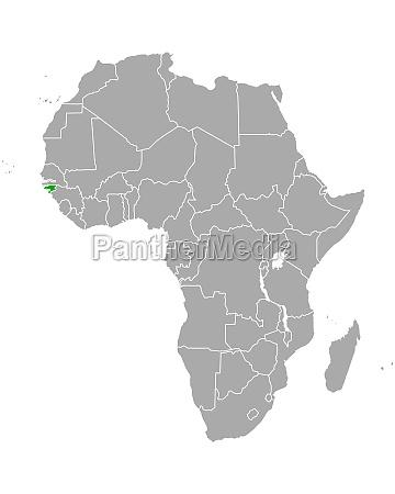 map of guinea bissau in africa