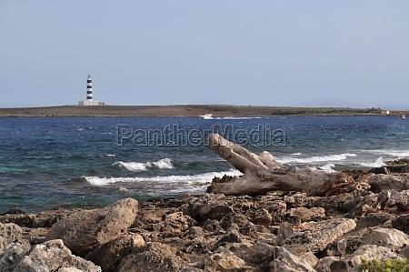 coast of the mediterranean sea in