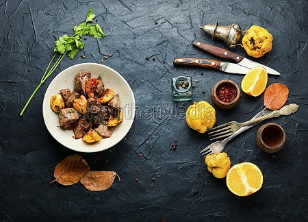aromatic fried liver