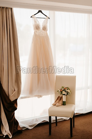 perfect wedding dress on the wedding