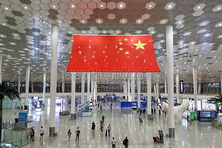 shenzhen international airport terminal building in